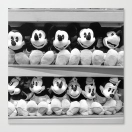 Mickey Mouse Mania! Canvas Print