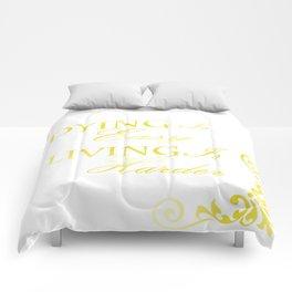 Hamilton: Dying is Easy Comforters