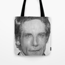 Ben Stiller Traditional Portrait Print Tote Bag