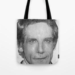 Ben Stiller Traditional Portrait Print Tote Bag