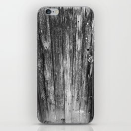 OLD CABIN DOOR iPhone Skin