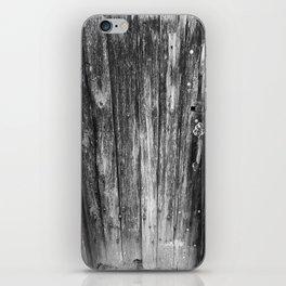 OLD CABIN DOOR iPhone Skin