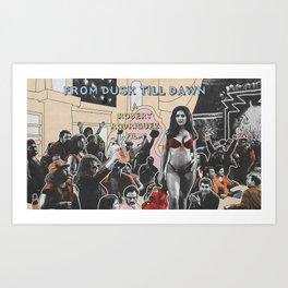 FROM DUSK TILL DAWN Art Print