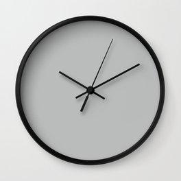 Gray Violet Wall Clock