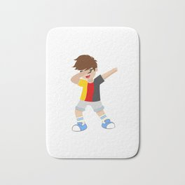Lets Dabb and Have fun doing sports Bath Mat