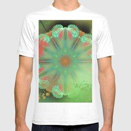 Painted angel wings kaleidoscope T-shirt