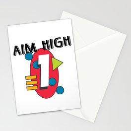 Aim High Stationery Cards