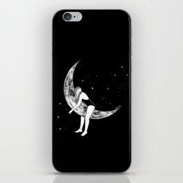 Moon Lover iPhone Skin