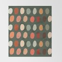 Hand drawn pastel dots pattern by vectorybelle