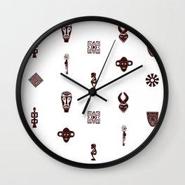 African Spirit | Pattern Art Wall Clock