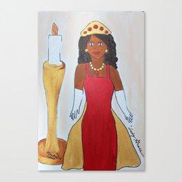 Lady Grace/Lady Wisdom Speaks! Canvas Print