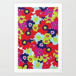 LA Garden - By Sew Moni Art Print