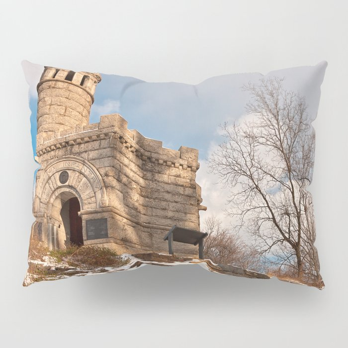 Winter Gettysburg Castle Pillow Sham