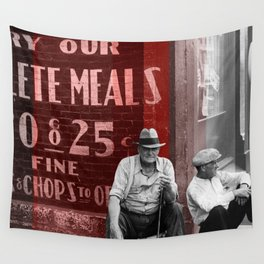 25 Cent Chops Wall Tapestry