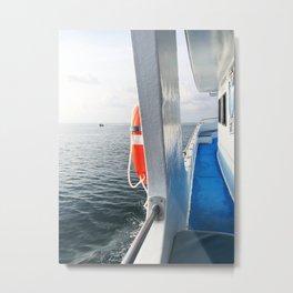 Clear Waters Metal Print