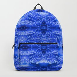 beautiful coral pattern blue magical Backpack