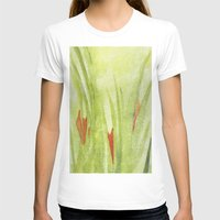 flora T-shirts featuring flora by Louisa Stickney-Keats