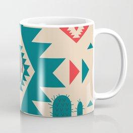 Navajo desert geometry Coffee Mug
