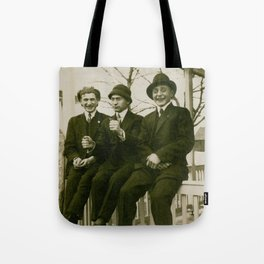 Harry, Herbert and Horace Tote Bag