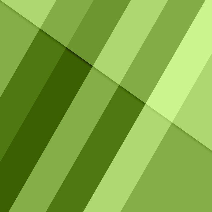 Greenery modern geometric lines Comforters