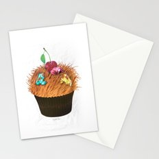 Hairy Cupcake Stationery Cards