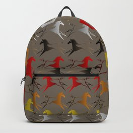 Native American War Horse Backpack