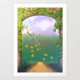 Il venditor di parole: all'avventura! Art Print