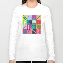 Pop Music Art Long Sleeve T-shirt