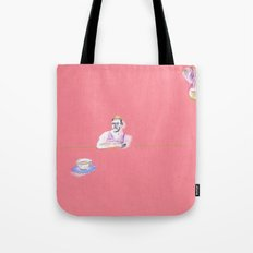 have a cup of tea Tote Bag