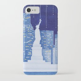 New York, Statue of Liberty iPhone Case
