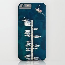Boat Parking iPhone Case