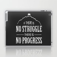 No Struggle, No Progress Laptop & iPad Skin