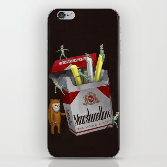 The World Is Soft iPhone & iPod Skin