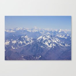 Andes Centrales Canvas Print