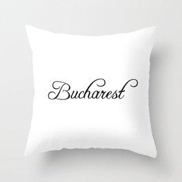 Bucharest Throw Pillow