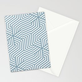 Pewter Blue - heavenly - Minimal Vector Seamless Pattern Stationery Cards