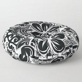 Savaii Polynesian Tribal Floor Pillow
