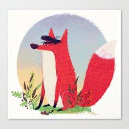 The Fox. Canvas Print