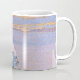 "Henri-Edmond Cross ""Paysage au soleil couchant"" Coffee Mug"