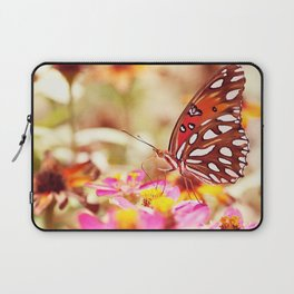 Textured Butterfly Laptop Sleeve