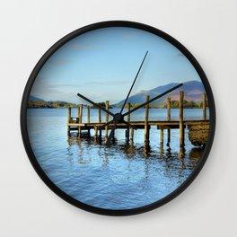 Derwent Water Pier Wall Clock