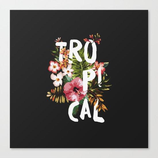 Tropical II Canvas Print