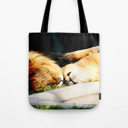 Cat Nap (Jungle Love) Tote Bag