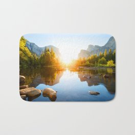 Middle of Nature Bath Mat