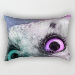 Galactic Owl Rectangular Pillow