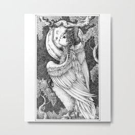 Harpy 4 Metal Print