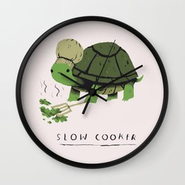 slow cooker Wall Clock