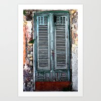 doors Art Prints featuring doors by  Agostino Lo Coco
