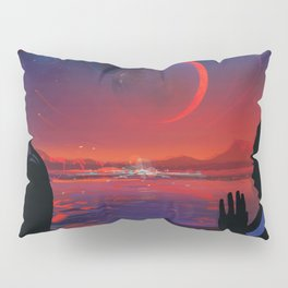 NASA Visions of the Future - Planet Hop from Trappist-1e Pillow Sham