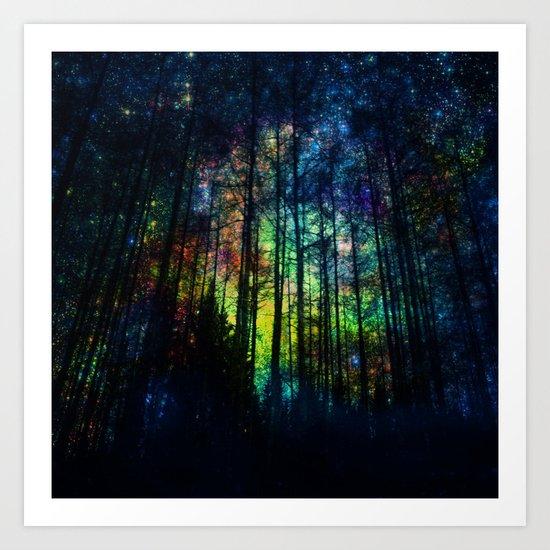 Magical Forest II Art Print
